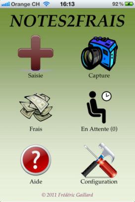 N2F 2 Lapplication Notes2Frais (2,39€) est temporairement gratuite en partenariat avec App4Phone