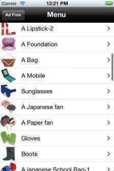 Origami Les bons plans de lApp Store ce mardi 5 juin 2012