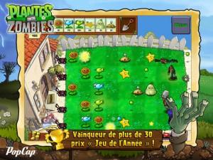 Plantes vs zombies 300x225 Le célèbre et très bon jeu Plantes contre Zombies en promotion !