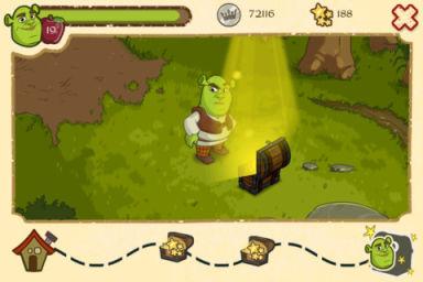 Shrek 1 Shreks FairyTale Kingdom (Gratuit) : Un nouveau jeu à limage de logre vert !