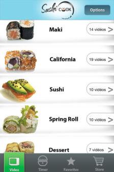Sushi cook Les bons plans de lApp Store ce lundi 4 juin 2012