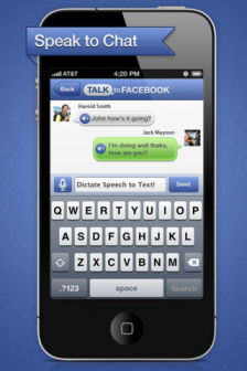 Talk to facebook Les bons plans de lApp Store ce lundi 11 juin 2012