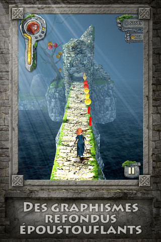 Temple Brave Temple Run Brave : La nouvelle version du jeu à succès revue avec Disney !
