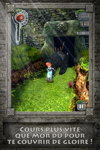 Temple brave 1 Temple Run Brave : La nouvelle version du jeu à succès revue avec Disney !