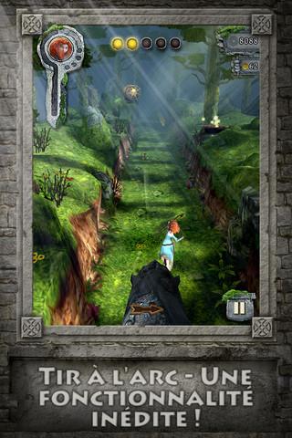 Temple brave 2 Temple Run Brave : La nouvelle version du jeu à succès revue avec Disney !