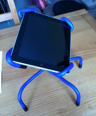 TestCrazyCraddle 002 Concours : Un support Crazy Craddle pour iPad à gagner !