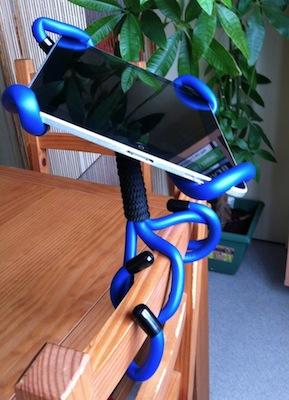 TestCrazyCraddle 006 Concours : Un support Crazy Craddle pour iPad à gagner !