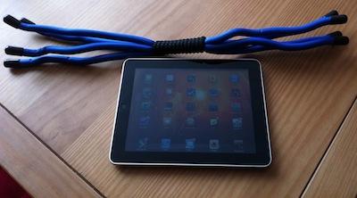 TestCrazyCraddle 012 Concours : Un support Crazy Craddle pour iPad à gagner !