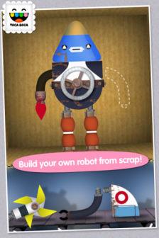 Toca robot Les bons plans de lApp Store ce lundi 11 juin 2012