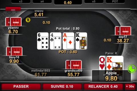 Winamax 2 Winamax Poker (Gratuit)   La référence du poker en ligne, aussi sur iPhone !