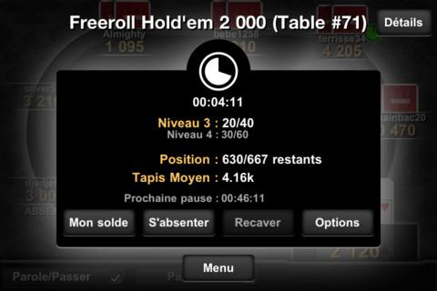 Winamax 4 Winamax Poker (Gratuit)   La référence du poker en ligne, aussi sur iPhone !