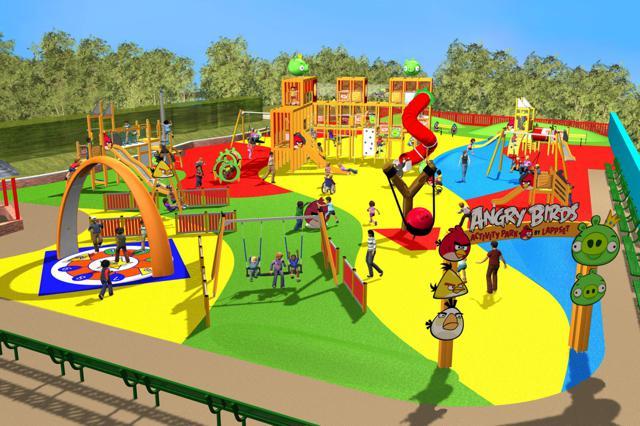 angrybirds Un nouveau parc d'attractions Angry Birds au Royaume Uni