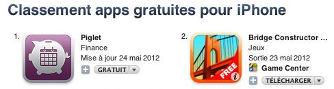 app gratuites top 06 12 Le nouveau jeu à succès du moment se nomme... Bridge Constructor !
