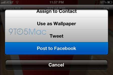 facebook iOS6 Dossier : Toutes les nouveautés probables diOS6