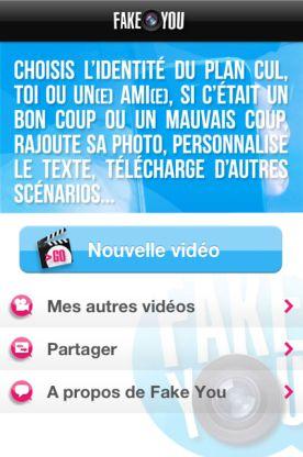 fake you 1 Fake You (Gratuit) : Une application innovante et très drôle !