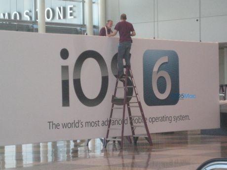 iOS6 2 Le nouvel iOS6 sera bel et bien dévoilé lundi à la WWDC 2012