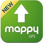 icon Mappy Mappy GPS V2 : Un GPS gratuit de qualité pour iPhone !
