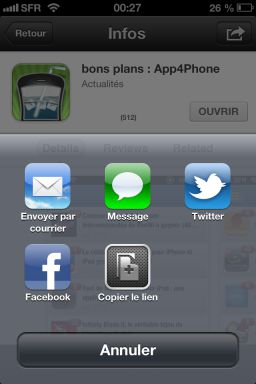 photo 5 iOS6 : Découverte de la nouvelle interface de lApp Store !