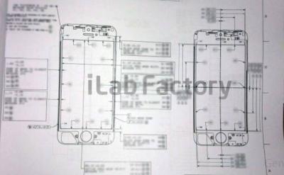 rumeur iPhone 5 plan Les rumeurs de la semaine: iPhone 5, AppleTV, iOS6, WWDC 2012...
