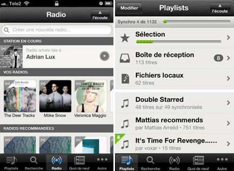 spotify 1 Spotify se met à jour avec humour et supporte les WebRadios