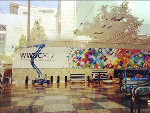 wwdc 1 Le Moscone Center se prépare pour la WWDC 2012 dApple