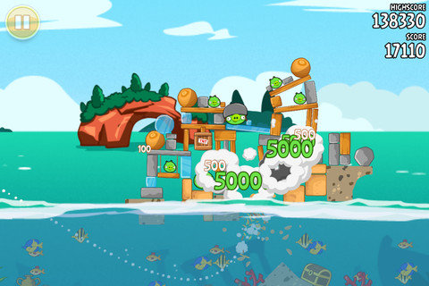Angry Birds season image Angry Birds Seasons passe gratuit exceptionnellement !