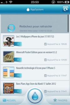 AppSystem Les bons plans de lApp Store ce vendredi 20 juillet 2012