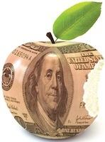 Apple dollars Riche comme Apple...