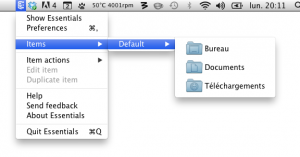 Capture d'écran 2012 07 02 à 20.10.58 300x157 App4Mac: Essentials, accédez à tout type de raccourci rapidement (7,99€)