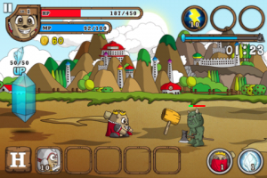 IMG 1353 300x200 Test de MoleHeart, un bon jeu de Tower Defense (gratuit)