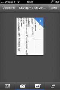 IMG 2323 200x300 Test de Scanner Pro: votre iPhone transformé en scanner (5,49€)