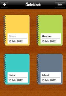 Noteblock Les bons plans de lApp Store ce vendredi 6 juillet 2012