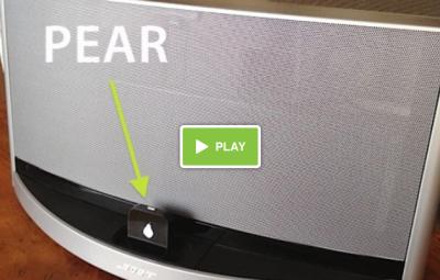 Pear video Le Pear ou comment rendre bluetooth votre station musicale !