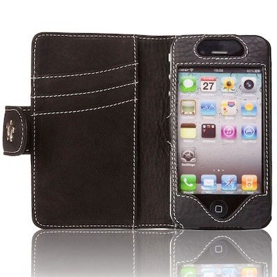 TestEtuiPortefeuille 005 Test de létui Portefeuille pour iPhone 4 de Issentiel