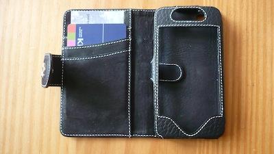 TestEtuiPortefeuille 006 Test de létui Portefeuille pour iPhone 4 de Issentiel