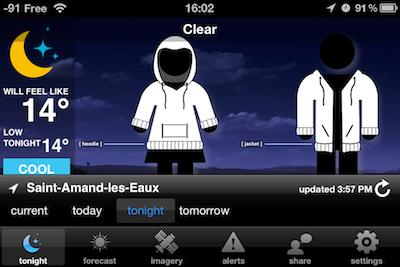 TestSwackettX 012 Test de Swackett X   Une météo inédite sur votre iPhone !