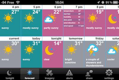 TestSwackettX 014 Test de Swackett X   Une météo inédite sur votre iPhone !