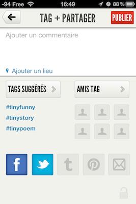 TestTinyPost 014 Test de Tiny Post   Un nouveau concurrent à Instagram ?