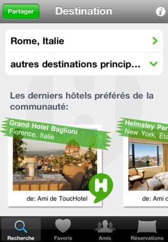ToucHotel ToucHotel (Gratuit) : Trouvez lhôtel de vos rêves et réservez depuis votre iPhone