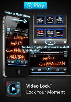 Video Lock Les bons plans de lApp Store ce vendredi 20 juillet 2012