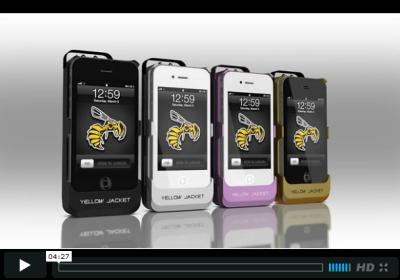 Yellow Jacket vidéo Yellow Jacket... Et votre iPhone devient électrisant !