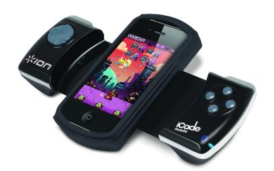 iCade mobile pivotement iCade mobile, jouer avec une manette sur son iPhone!
