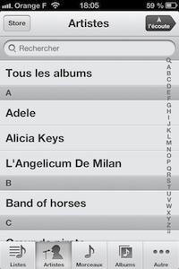 iPod iOS 6