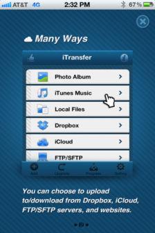 iTransfer pro Les bons plans de lApp Store ce mardi 17 juillet 2012
