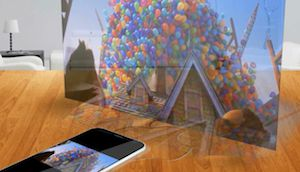 5 iPhone iphone holographic screen 5: A new concept of dream