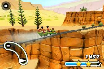 3D Roller Coaster Rush Les bons plans de l'App Store ce samedi 25 Août 2012