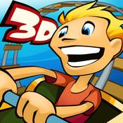 3drollericon 3D RollerCoaster Rush (Gratuit) : Les montagnes russes arrivent sur votre iPhone !