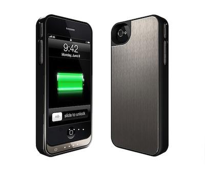 Batterie Slim 2 La coque Batterie la plus fine du monde pour iPhone 4/4S sur App4Shop