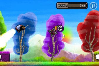 Color rush ninja Les bons plans de lApp Store ce mercredi 1 août 2012