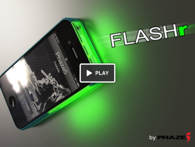 FLASHr vidéo FLASHr : Et liPhone sillumine !